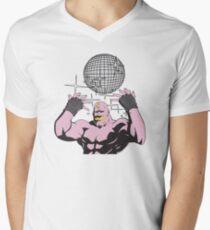 fullmetal alchemist Armstrong Disco Men's V-Neck T-Shirt