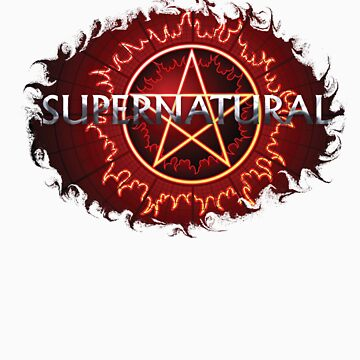 Supernatural - Flaming Pentagram by Enigma2005