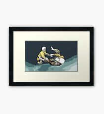 The Ground is my Ocean Part Three Framed Print