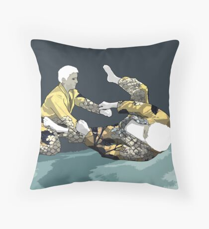 The Ground is my Ocean Part Three Throw Pillow