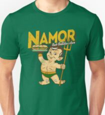 Namor The Sub-Sandwicher! Unisex T-Shirt