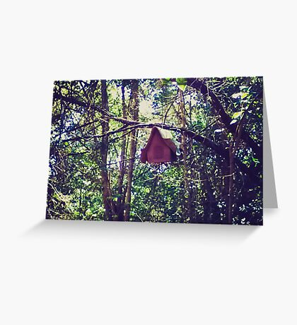 Hidden Birdhouse Greeting Card