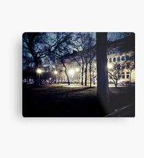 Here in the Twilight Zone Metal Print