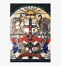 Coat of Arms in Glass Photographic Print