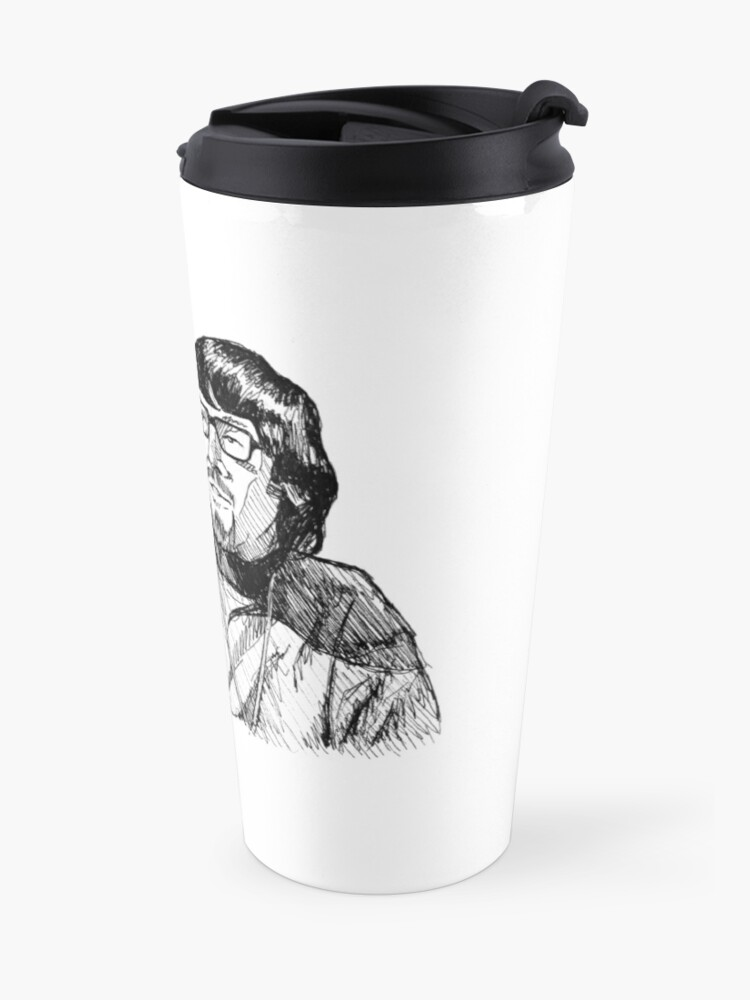 Alternate view of This is a jazz club, yeah? Travel Mug