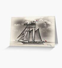 Flying Dutchman Greeting Card