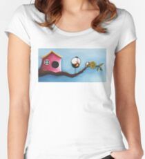 The Visitor Women's Fitted Scoop T-Shirt
