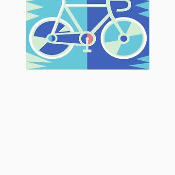 Road Bike T Shirt by MelTho