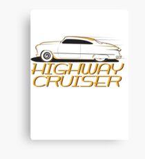 Highway cruiser... Canvas Print