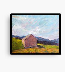 Grey Barn Canvas Print