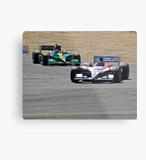 Competition in Turn 8 Metal Print