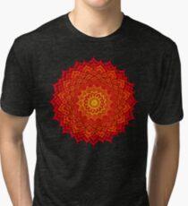 okshirahm rose mandala Tri-blend T-Shirt