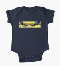 Live to Ride Handle Bars - Blue/Yellow Kids Clothes