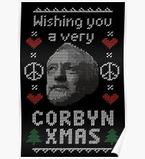 Wishing You A Very Corbyn Xmas Poster