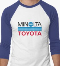 Le Mans Retro - Minolta Men's Baseball ¾ T-Shirt