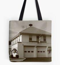 Vintage Firehouse Tote Bag