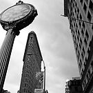 THE TIME FROM THE FLATIRON BUILDING by Alain Robillard