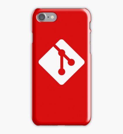 Git for iPhone - White logo iPhone Case/Skin