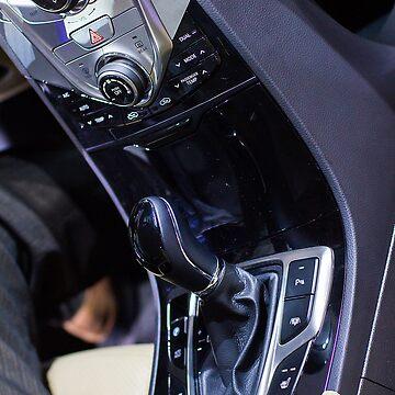 Hyundai Azera Clutch [ Print & iPad / iPod / iPhone Case ] by mauriciosantana