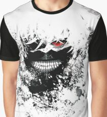 Tokyo Ghoul - The Eyepatch Ghoul (White Version) Graphic T-Shirt