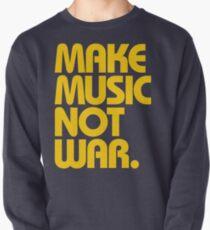 Make Music Not War (Mustard) Pullover