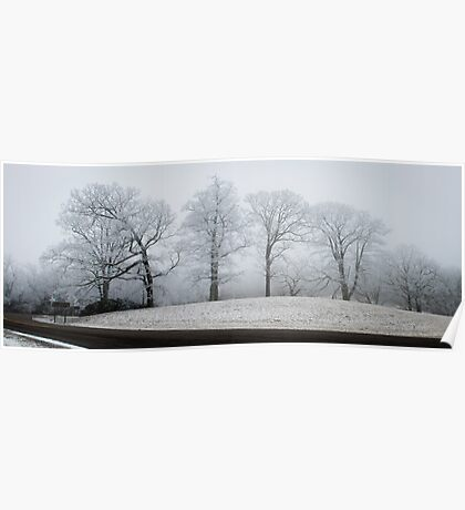 Blue Ridge Parkway Winter Poster