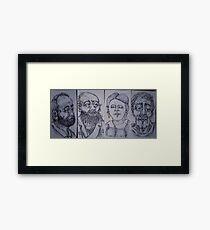 doodles Framed Print