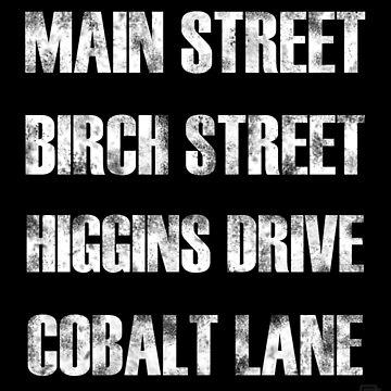 Birch Street, Higgins Drive by alannamode