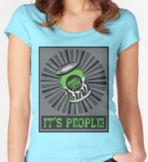 SOLENT GREEN Women's Fitted Scoop T-Shirt