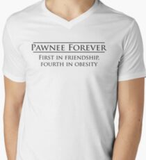 Parks and Recreation - Pawnee Forever Men's V-Neck T-Shirt