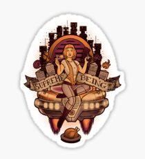 Supreme Being Sticker