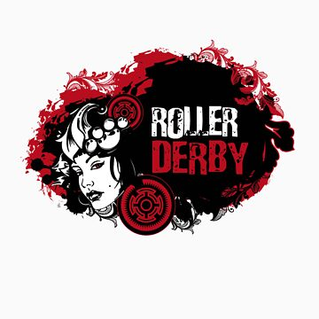 ROLLER DERBY by Bluebelly