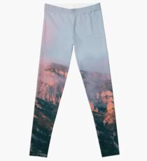 Mountains in the background VI Leggings
