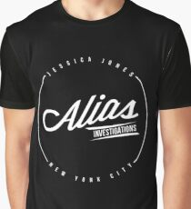 Alias Investigations Graphic T-Shirt