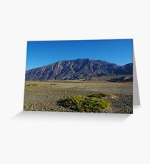 Death Valley impression Greeting Card
