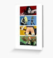 Dethklok Greeting Card