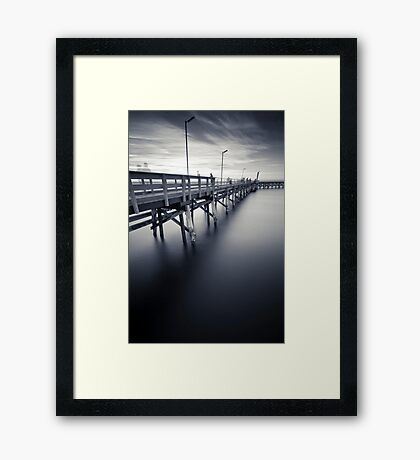 Moonta Bay II Framed Print