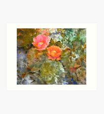 Desert Floor - Spring Art Print