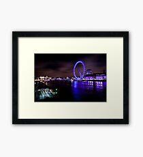 London eye 2 Framed Print