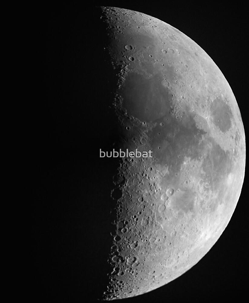 The Moon by bubblebat
