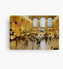 Grand Central Station rush hour Canvas Print
