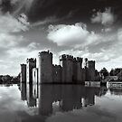 Reflections of Bodiam by Geoff Carpenter