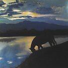 Nations' Horse One by Rhinovangogh