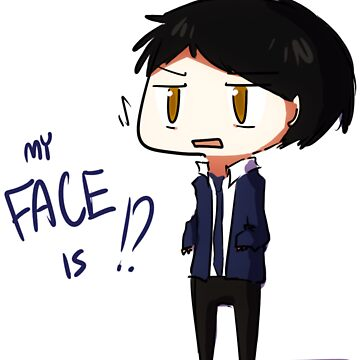 My FACE is!? by bunnypopcorn