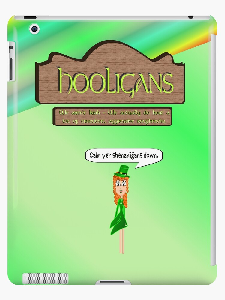 Hooligans' Pub - No Shenanigans by Weber Consulting