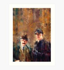 Sherlock Special Art Print