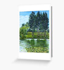 The three trees Greeting Card