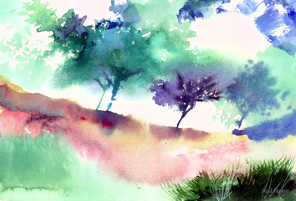 Against Light 1 by Anil Nene