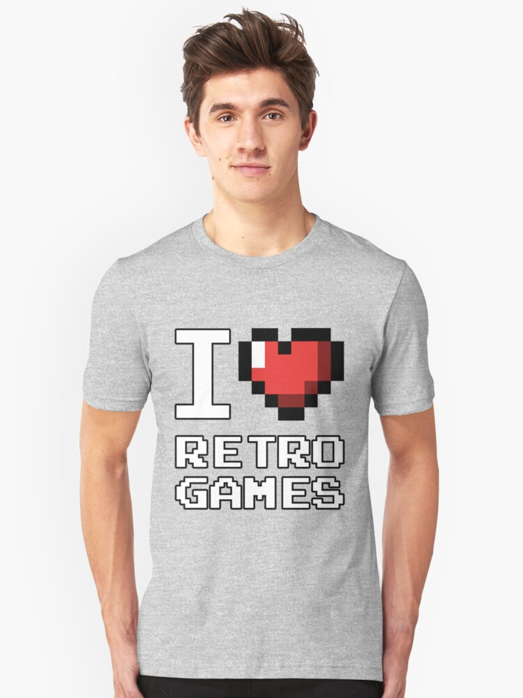 I Heart Retro Games by MagicPaul