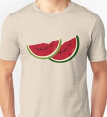 Watermelon slices Unisex T-Shirt